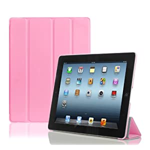 Photive SlimPad Ultra Slim Smart Cover Case for the New iPad