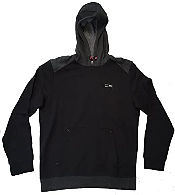 Calvin Klein Mens Performance Athletic Hooded Sweatshirt