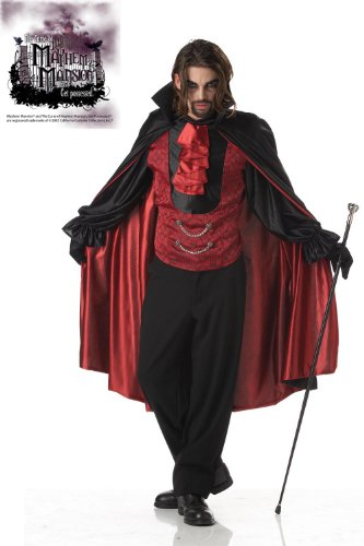 Mayhem Mansion Count Bloodthirst Vampire Costume Adult