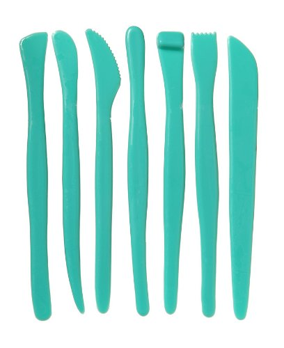 Darice Plastic Clay Tool 7 Piece Set (Modeling Tools compare prices)