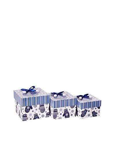 Decoracion Navideña Set Caja 3 Uds. Navidad