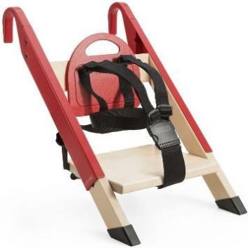Stokke ストッケ HandySitt Chair ハンディシット チェア Red レッド [並行輸入品]