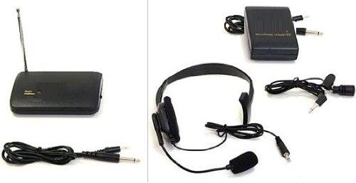 New Wireless Ca-03 Lapel And Headworn Microphone (3.5 6.3Mm)