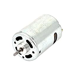 3mm Dia Shaft DC 3-6V 12000RPM Speed 2 Pins Motor for DIY RC Toy