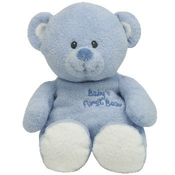 Baby Ty - Baby's First Bear Blue - Buy Baby Ty - Baby's First Bear Blue - Purchase Baby Ty - Baby's First Bear Blue (ty, Toys & Games,Categories,Stuffed Animals & Toys,Animals)