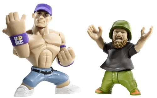 WWE Rumblers Hornswoggle And John Cena Figure 2-Pack