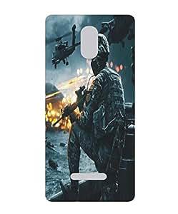 Techno Gadgets Back Cover for Xiaomi Redmi Note 3