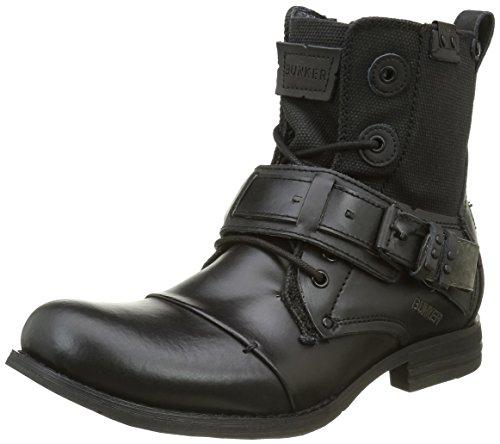 BunkerSozo Sp - Stivali Uomo , Nero (Black (nero)), 45