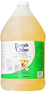 Fresh'n Clean Flea and Tick Small Pet Conditioning Shampoo, 1-Gallon