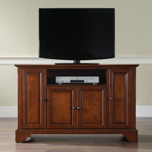 Crosley Furniture LaFayette 48-Inch TV Stand, Classic Cherry image