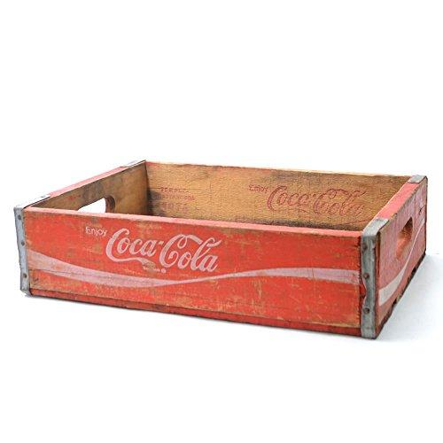 (コカ・コーラ) Coca Cola ウッドボックス ヴィンテージ 木箱 アメリカン雑貨 ドリンク USA 収納 おもちゃ箱 インテリア ガーデニング USED DIY [並行輸入品]