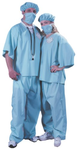 Funworld Doctor!Doctor!, Blue/Green, One Size Costume