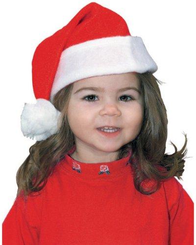 Rubie's Costume Co Toddler Classic Santa Hat Costume - 1