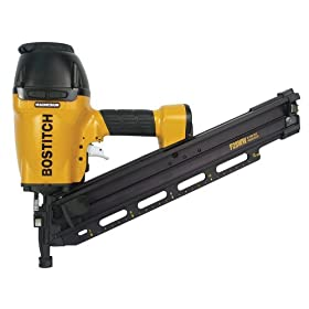 Factory-Reconditioned Bostitch U/F28WW Clipped Head 2-Inch to 3-1/2-Inch Framing Nailer with Magnesium Housing