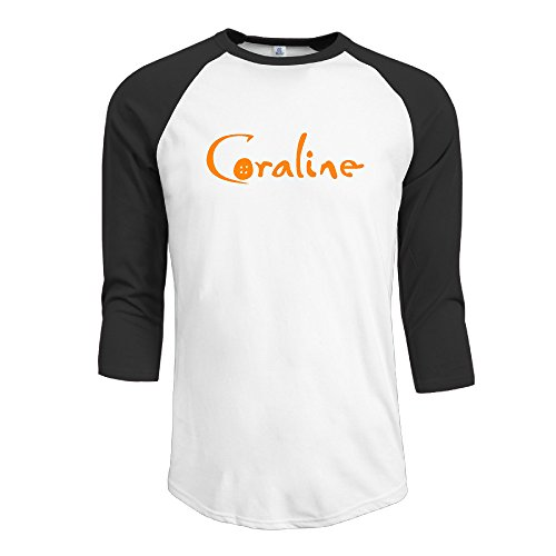 Coraline A Secret Door 3/4 Sleeve Raglan Tee Round Collar (Infinite Santa 8000 compare prices)