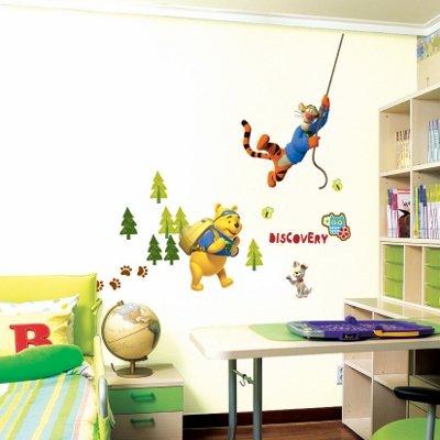 Imagen 1 de Winnie the Pooh y Tiger - Muro de los niños pegatinas casa Art Deco Pegatinas de pared
