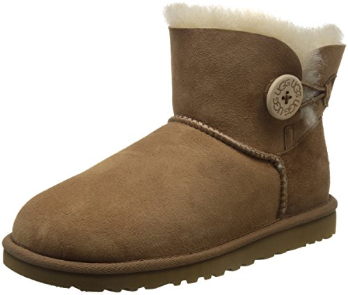 ugg-womens-ws-mini-bailey-button-ankle-boots-brown-braun-chestnut-size-35-36-eu