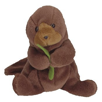 Ty Beanie Babies - Seaweed the Otter - 1