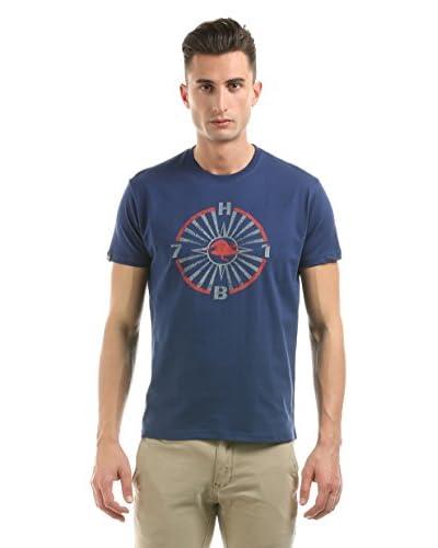 Hot Buttered T-Shirt Manica Corta Ray [Blu Navy]