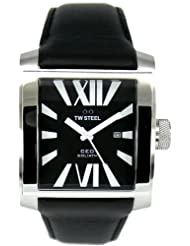 TW Steel CEO Goliath Black Dial 42mm Mens Watch CE3005
