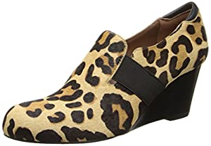 Donald J Pliner Women's Nyle Wedge Pump, Leopard Haircalf, 6 M US