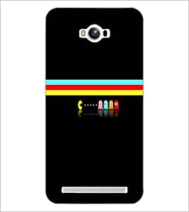 PrintDhaba Cartoon D-3998 Back Case Cover for ASUS ZENFONE MAX ZC550KL (2016) (Multi-Coloured)