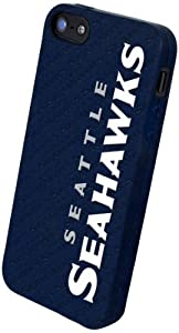 Forever Collectibles Seattle Seahawks Team Logo Silicone Apple iPhone 5 & 5S Case by Forever Collectibles
