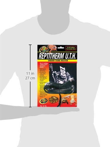 Zoo Med Reptitherm 174 Under Tank Heater Small 780231584356