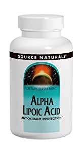 Source Naturals Alpha-Lipoic Acid 200 Mg, 60 Tablets
