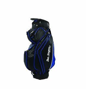 Ben Sayers 14 Way Divider Top Deluxe Cart Bag - Black/Blue