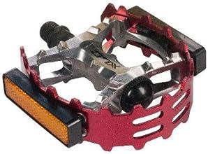 XLC Bear Trap Pedal - 916quot Red