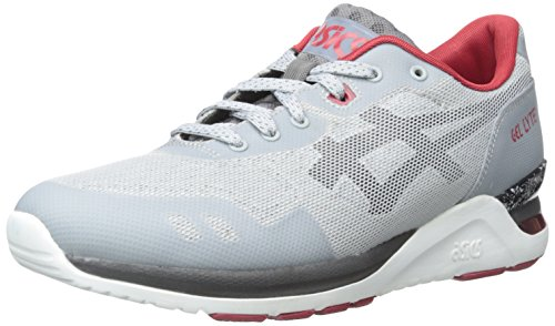 Asics Men's GEL-Lyte Evo NT Retro Light Grey/Black Running Shoe - 12 M US