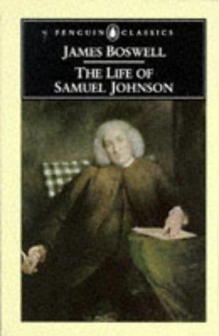 The Life of Samuel Johnson (Penguin Classics), JAMES BOSWELL