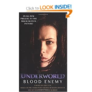 Blood Enemy: Underworld Book 2 (Underworld (Pocket Star Books)) (Bk. 2) by
