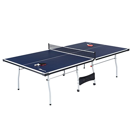 MD Sports 4Piece Table Tennis Official Tournament Table Tennis (4Piece), Blue, 108