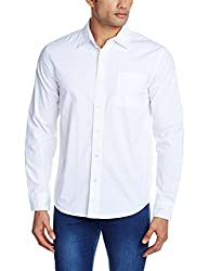 Fox Men's Casual Shirt (435656010042_435656_X-Large_White)