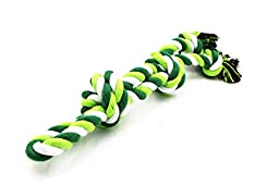 Petony Flossy Dental Knots Durable Teething Dog Rope Tug Toy Perfect for Playing Chew Toy
