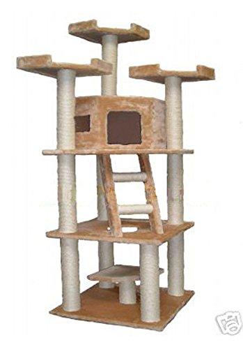 Go Pet Club 78-Inch High Cat Tree Go Pet Club B00412VNHC