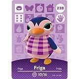 Friga - Nintendo Animal Crossing Happy Home Designer Amiibo Card - 238