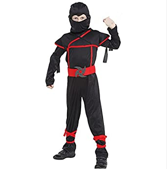 Luk Oil Halloween Costumes for Boys Stealth Ninja Costume Costumes Toys Stealth Ninja