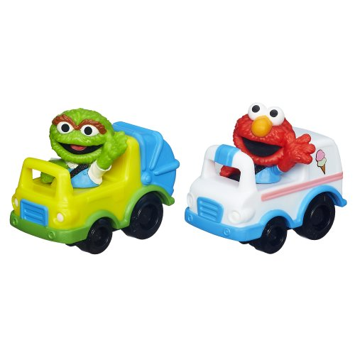 Playskool Sesame Street Racers (Elmo and Oscar) - 1