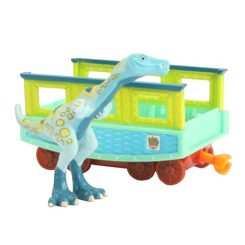 Learning Curve Dinosaur Train Collectible Dinosaur With Train Car: My Friends Are Bipeds: Bucky - 1