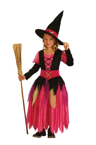 Boland 86950 - Kinder-Kost&#252;m Pretty Witch, Gr&#246;&#223;e 104-116