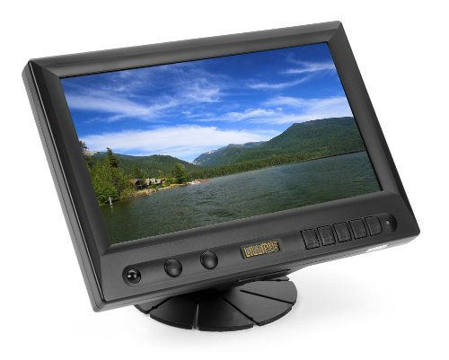 "Lilliput 8"" Car Pc Touch Screen Tft Lcd Vga Monitor (Black)"
