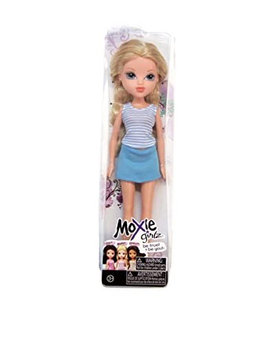 Bandai Moxie Girlz Muñeca Avery Vestido Azul