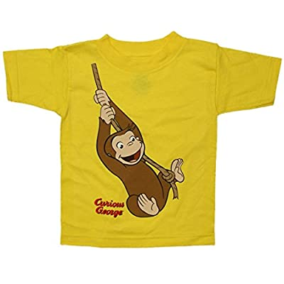 Curious George Swinging Rope Toddler T-Shirt