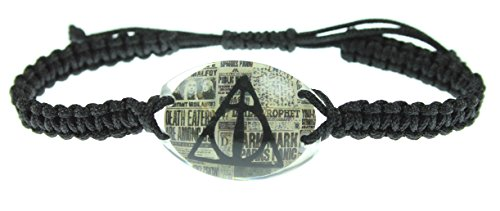 Harry Potter Deathly Hallows Cord Bracelet (Deathly Hallows Merchandise compare prices)