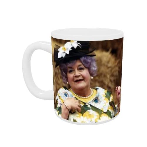 Amazon.com: Mollie Sugden - Mug - Standard Size: Kitchen & Dining