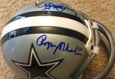 828ad86e5bd Buy Tony Dorsett Roger Staubach auto autographed signed Dallas Cowboys mini  helmet - Autographed NFL Mini