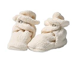 Zutano Baby Cozie Booties Cream 6 Months